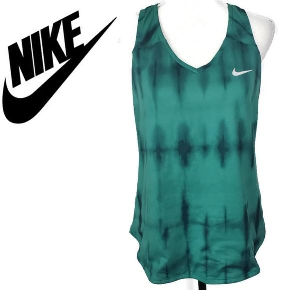 Nike Tops - Nike Court Dri Fit Green Tank Size Large